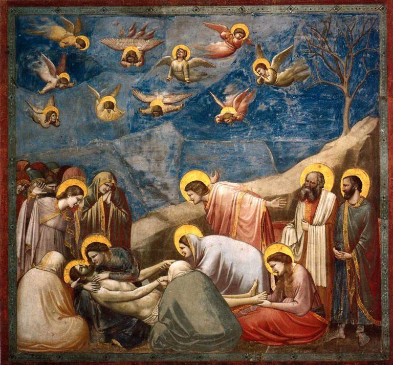 Положение во гроб. 1303–1305