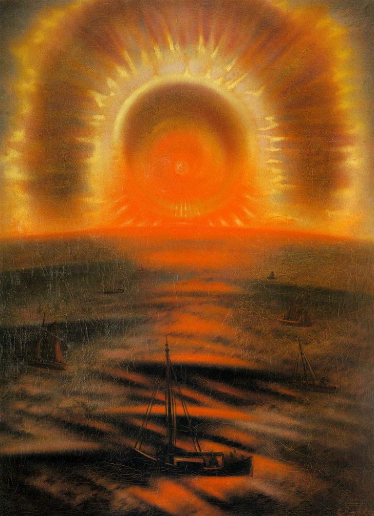 Полуночное солнце (Северное сияние). 1925