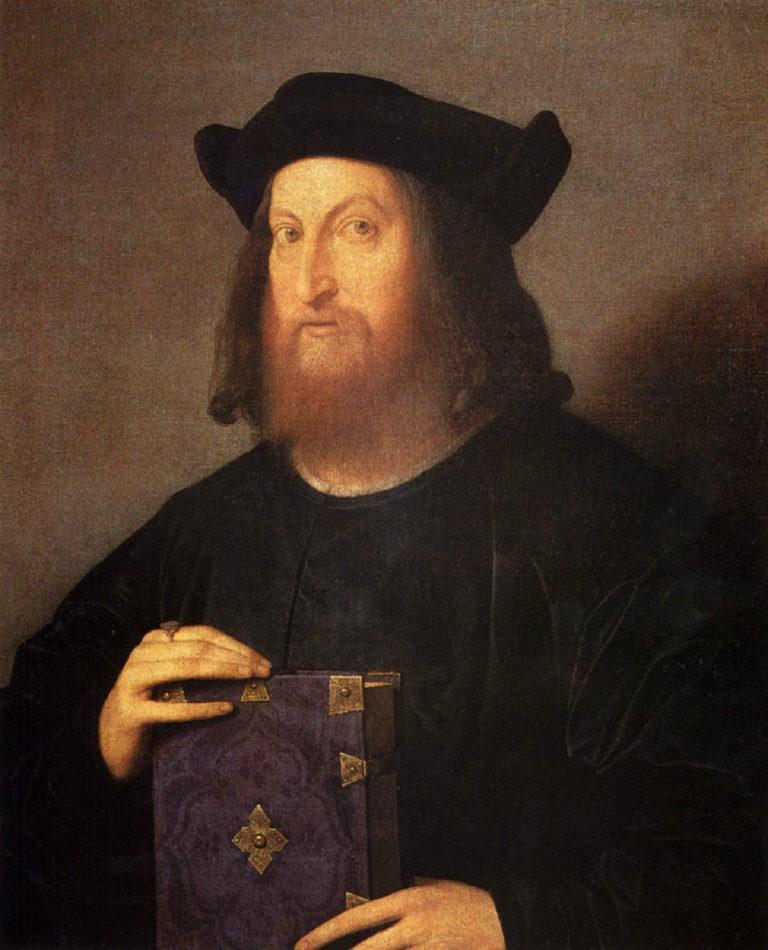 Портрет Джан Джорджо Триссино. 1510