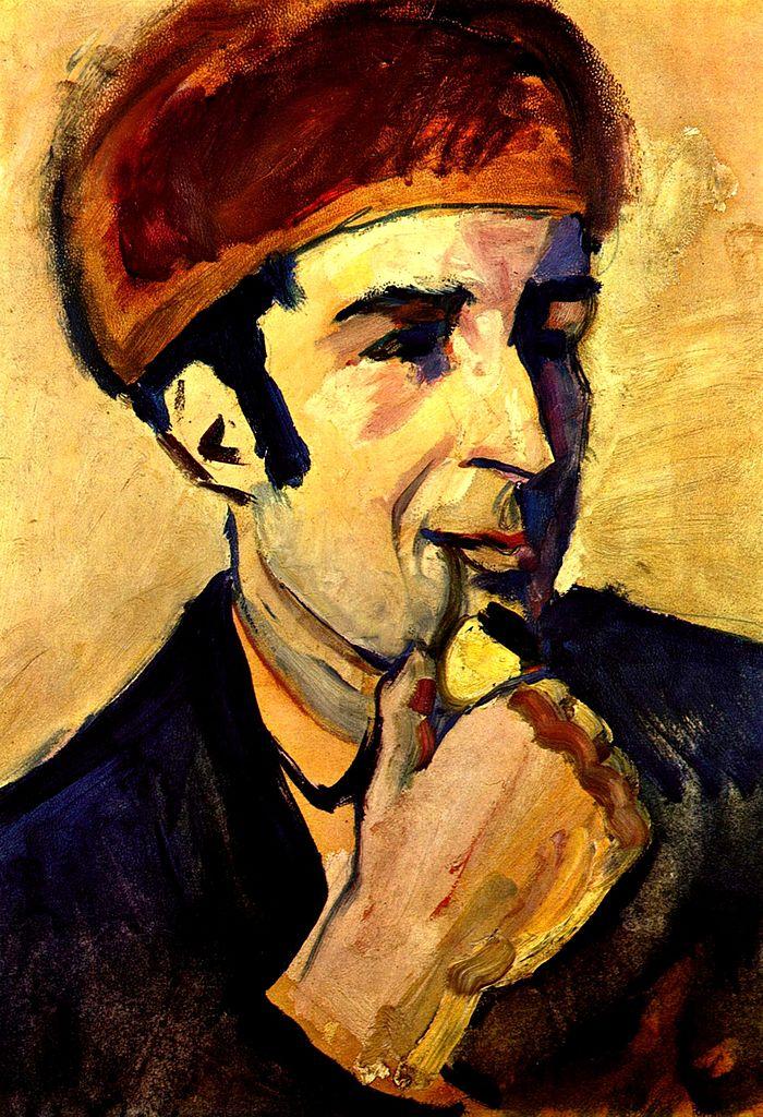 Портрет Франца Марка. 1910