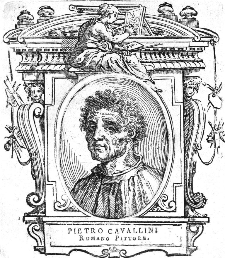 Портрет Пьетро Каваллини (итал. Pietro Cavallini, около 1240—1330). 1767