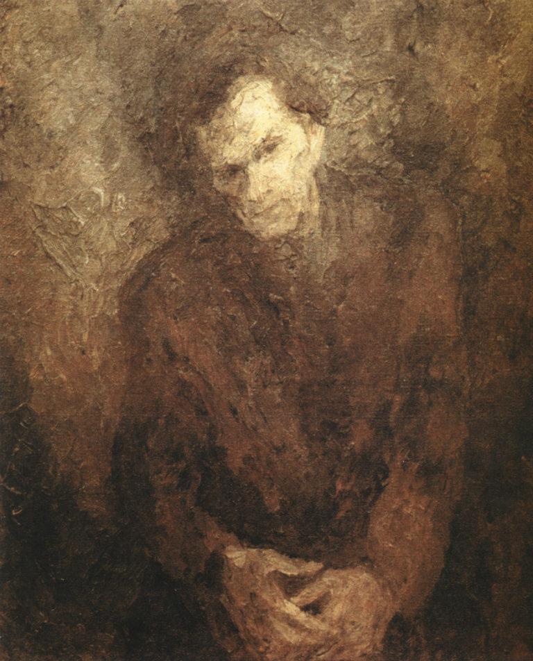 Портрет Варлама Шаламова. 1960-е