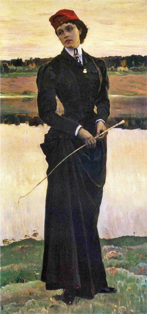Портрет дочери (Амазонка). 1906