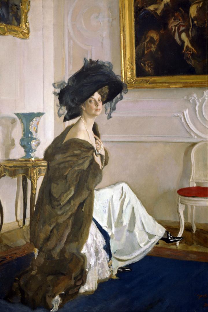 Портрет княгини Ольги Орловой. 1911