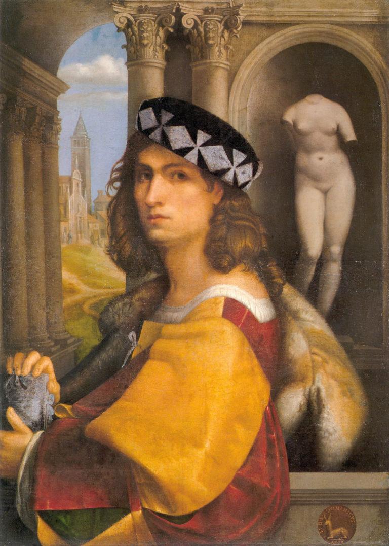 Портрет мужчины (Автопортрет). 1512