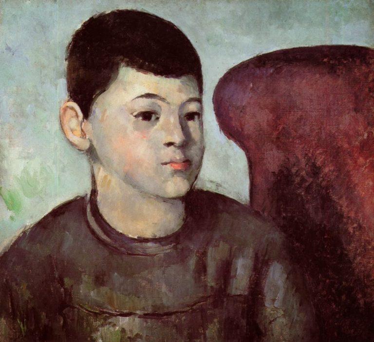 Портрет сына. 1885