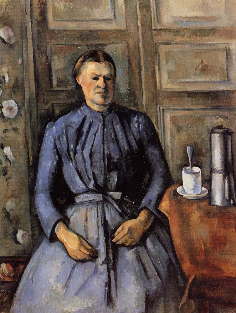 Портрет женщины с кофейником. 1895