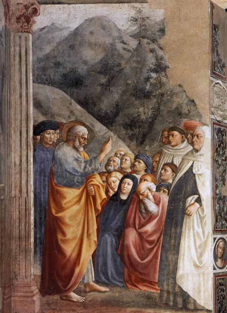 Проповедь Петра. 1424–1425