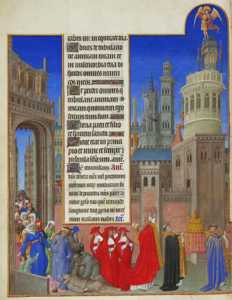 Процессия св. Григория. 1411–1416