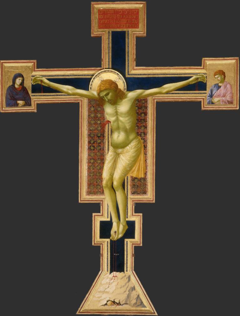 Расписной крест. 1290–1300