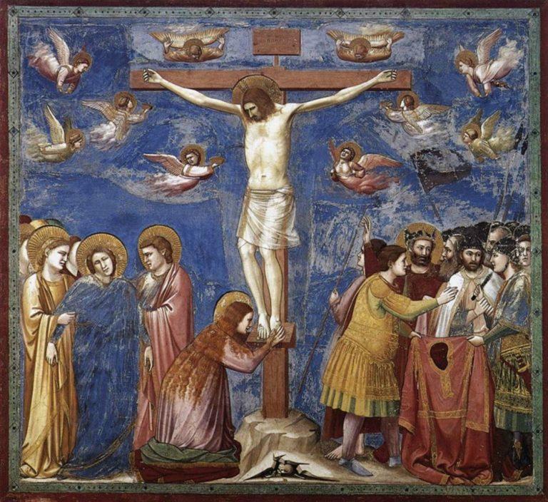 Распятие Христа. 1303–1305