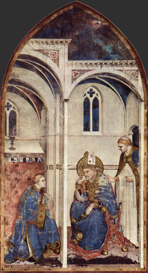 Размышления св. Мартина. 1313–1318