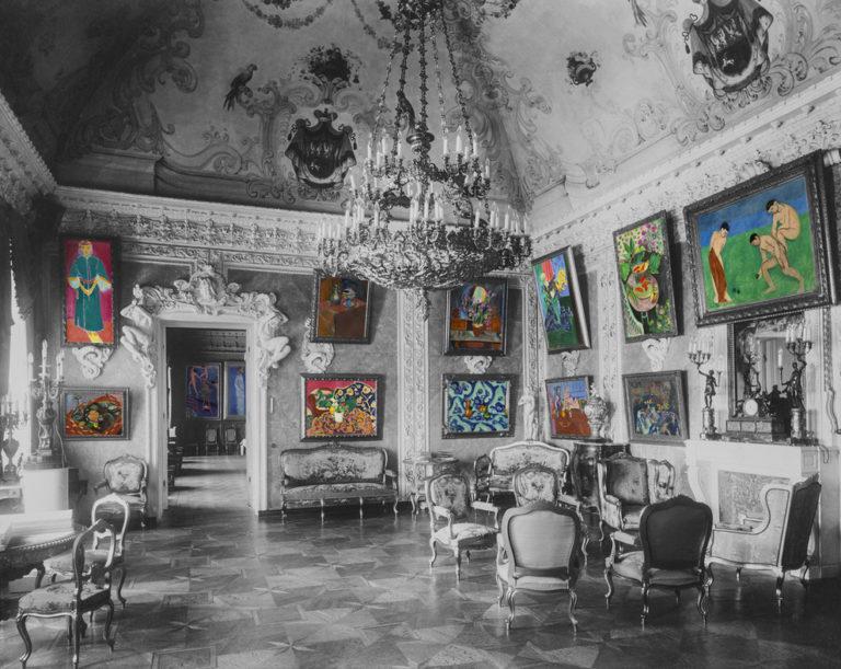 Реконструкция экспозиции Матисса в особняке Сергея Щукина