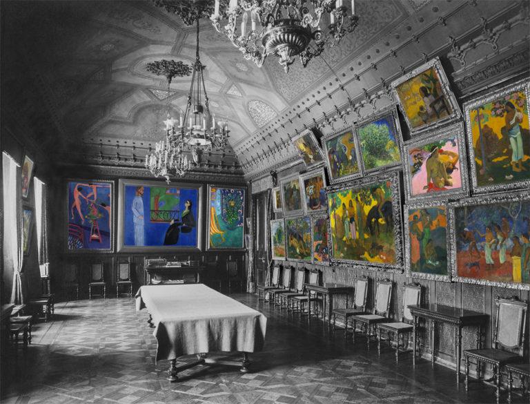 Реконструкция комнаты Поля Гогена в особняке Сергея Щукина