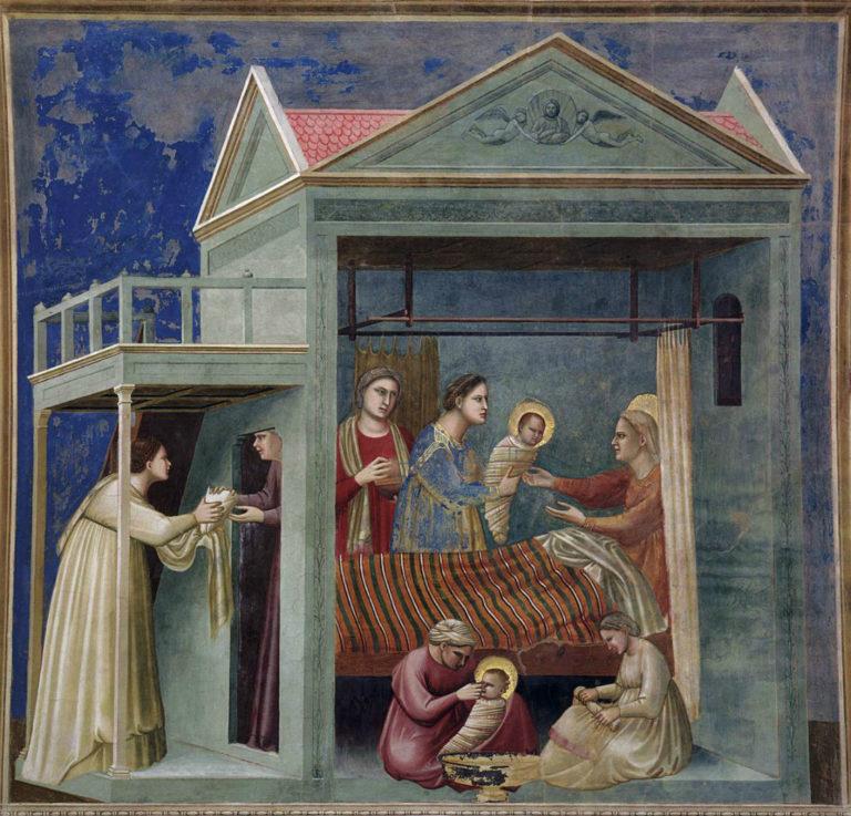 Рождение Марии. 1303–1305
