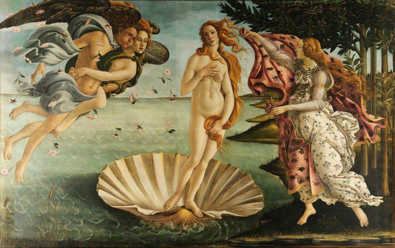 Рождение Венеры. 1484–1485