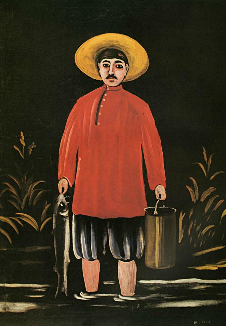 Рыбак в красной рубашке. 1906