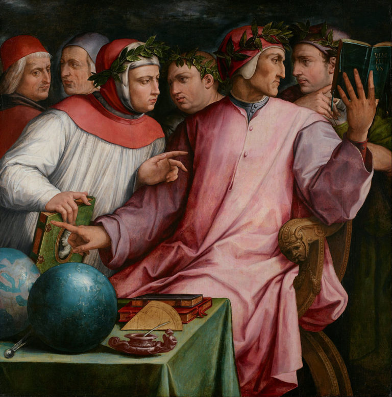 Шесть тосканских поэтов. 1544й