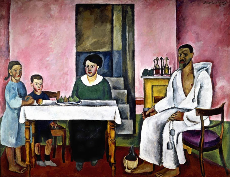 Семейный портрет (сиенский). 1912