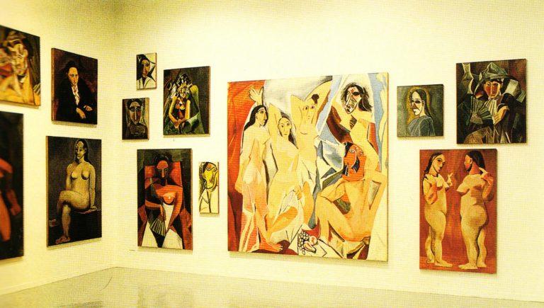 Серия «Женщины Пикассо». 1987