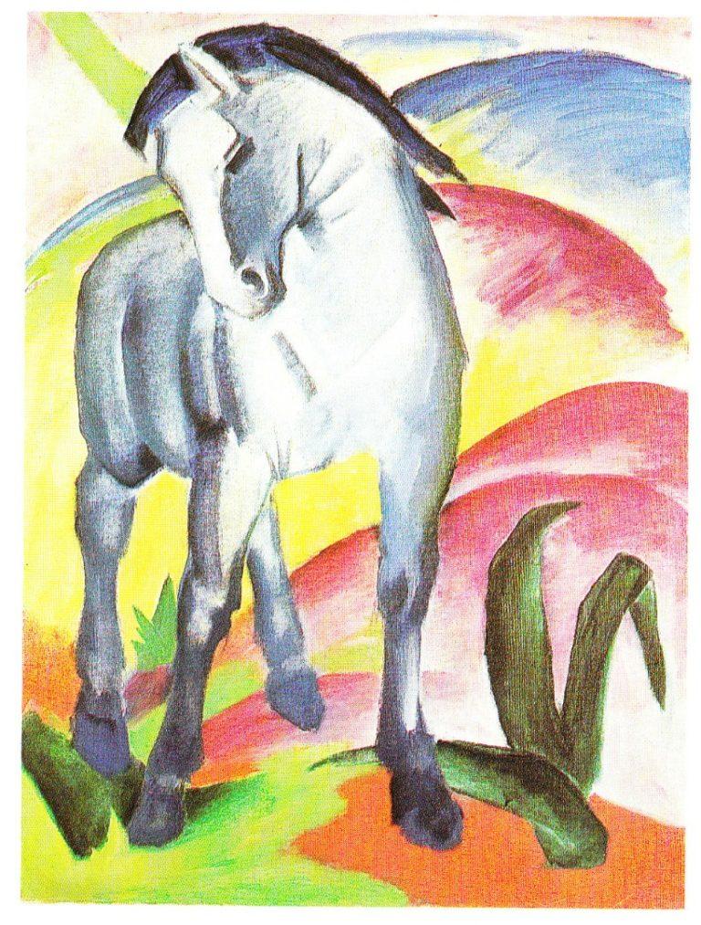 Синяя лошадь. 1911