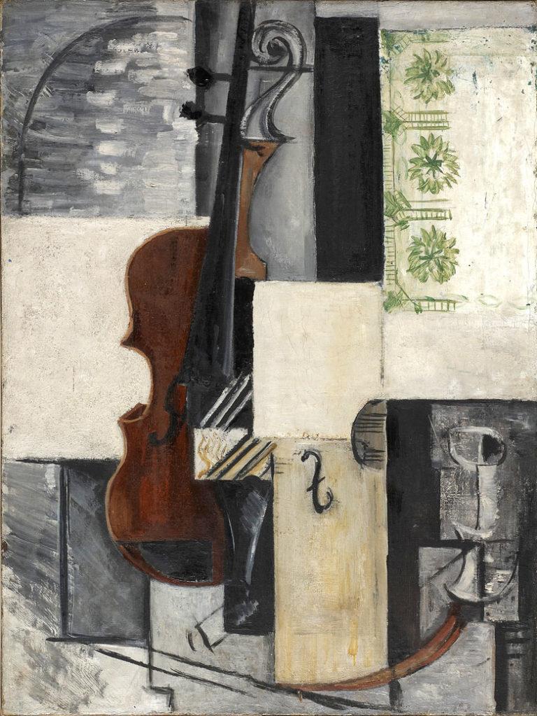 Скрипка. 1915