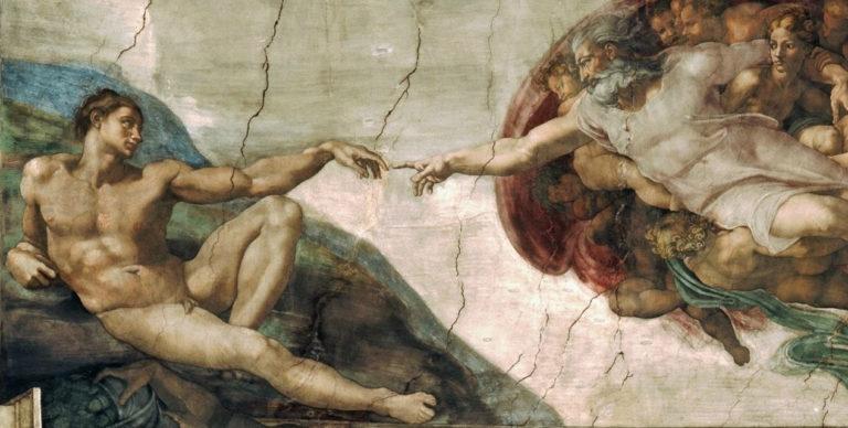 Сотворение Адама. Ок. 1511