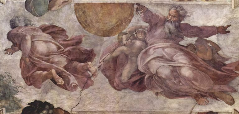 Создание Солнца, Луны и Планет. 1508–1512