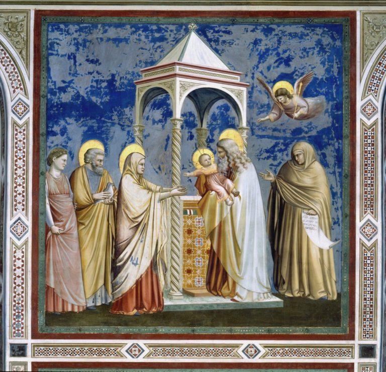 Сретение. 1303–1305