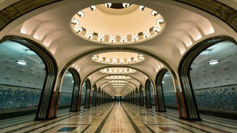 Станция метро «Маяковская». 1938