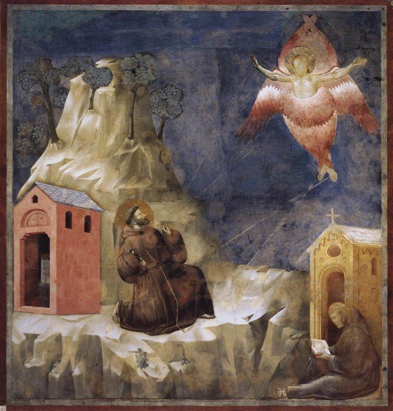 Стигматизация св. Франциска. Ок. 1296–1304