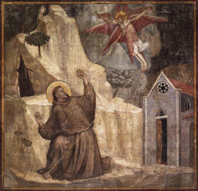 Стигматизация св. Франциска. Ок. 1325
