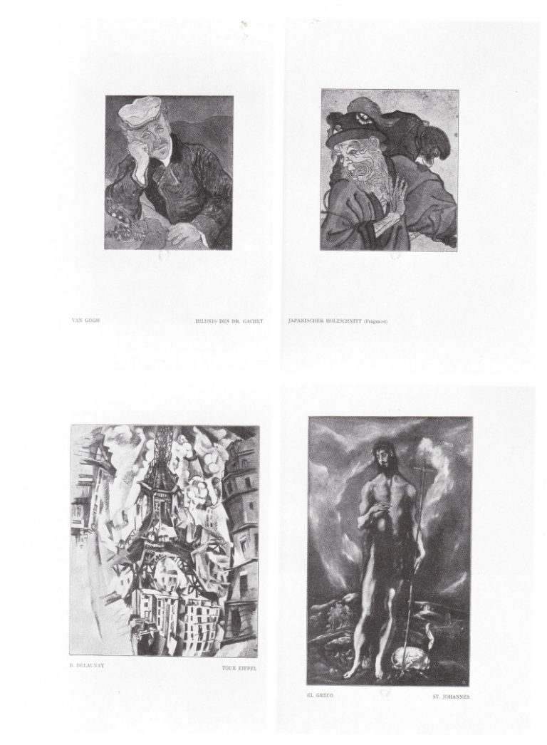 Страница альманаха «Синий всадник». 1912