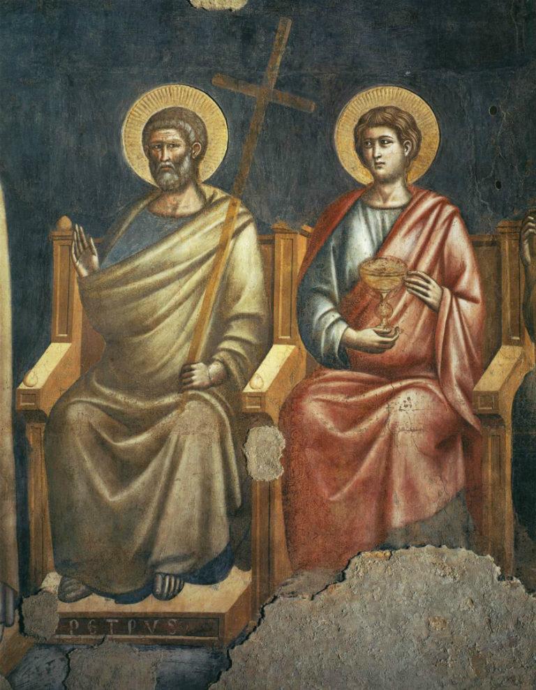 Страшный суд. Св. Петр. Ок. 1293
