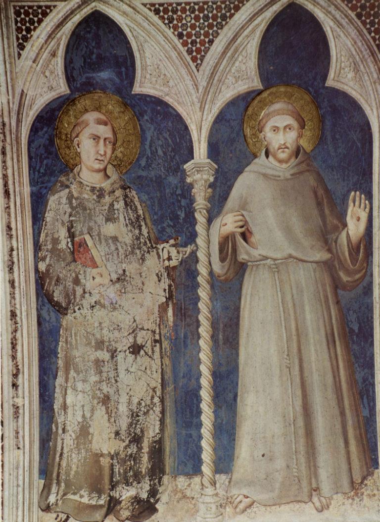 Св. Антоний Падуанский и св. Франциск. 1313–1318
