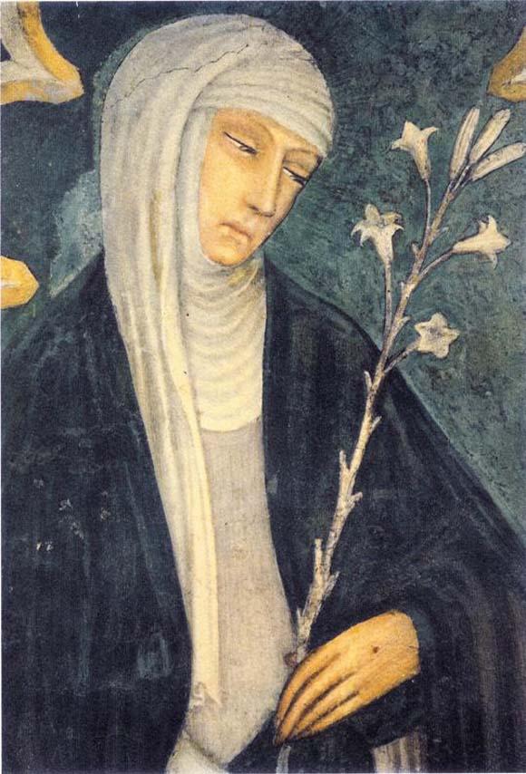 Св. Екатерина Сиенская. Ок. 1400