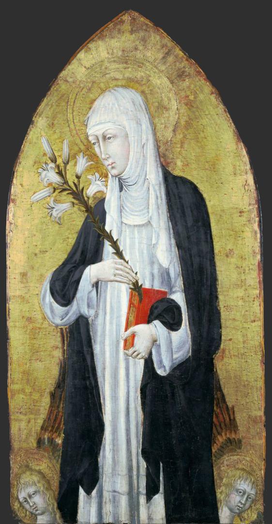 Св. Екатерина Сиенская. Ок. 1462
