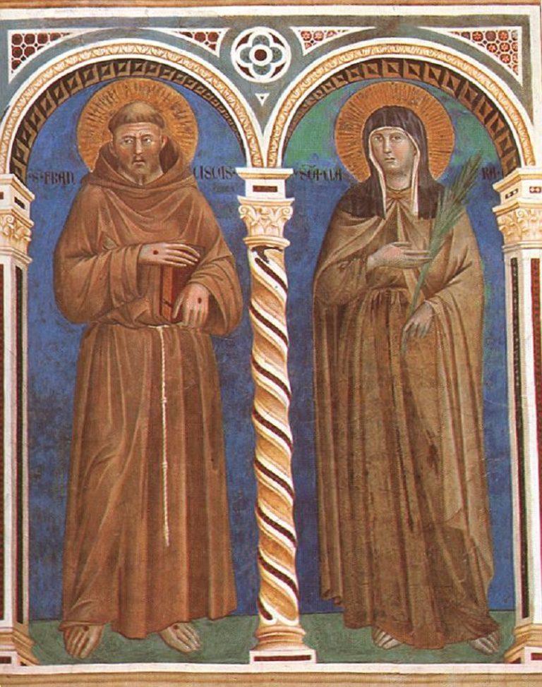 Св. Франциск и св. Клара. Ок. 1290–1300