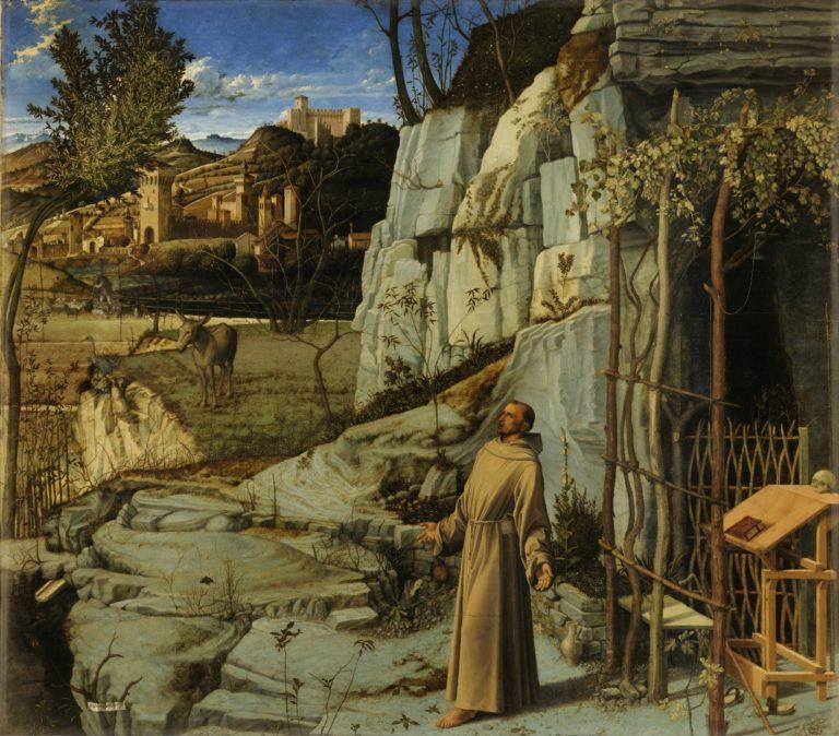 Св. Франциск в пустыне. Ок. 1480