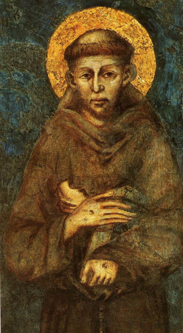 Св. Франциск. 1278–1280