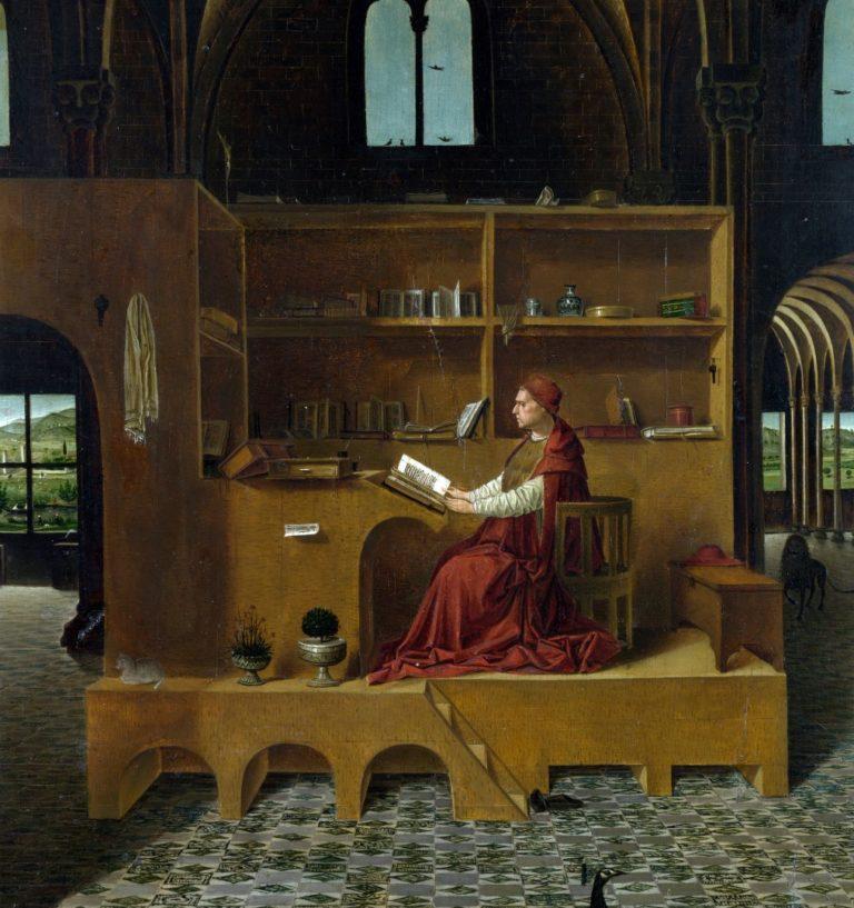 Св. Иероним в келье. Ок. 1475