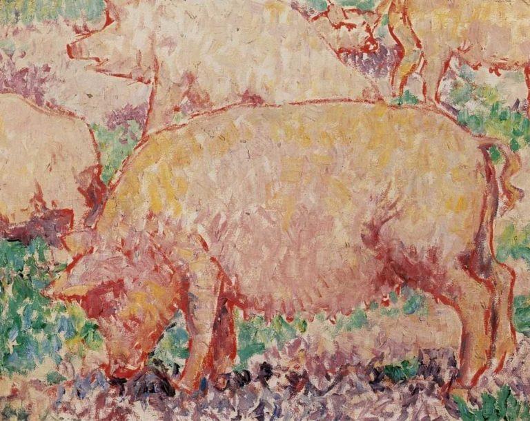 Свиньи. 1906