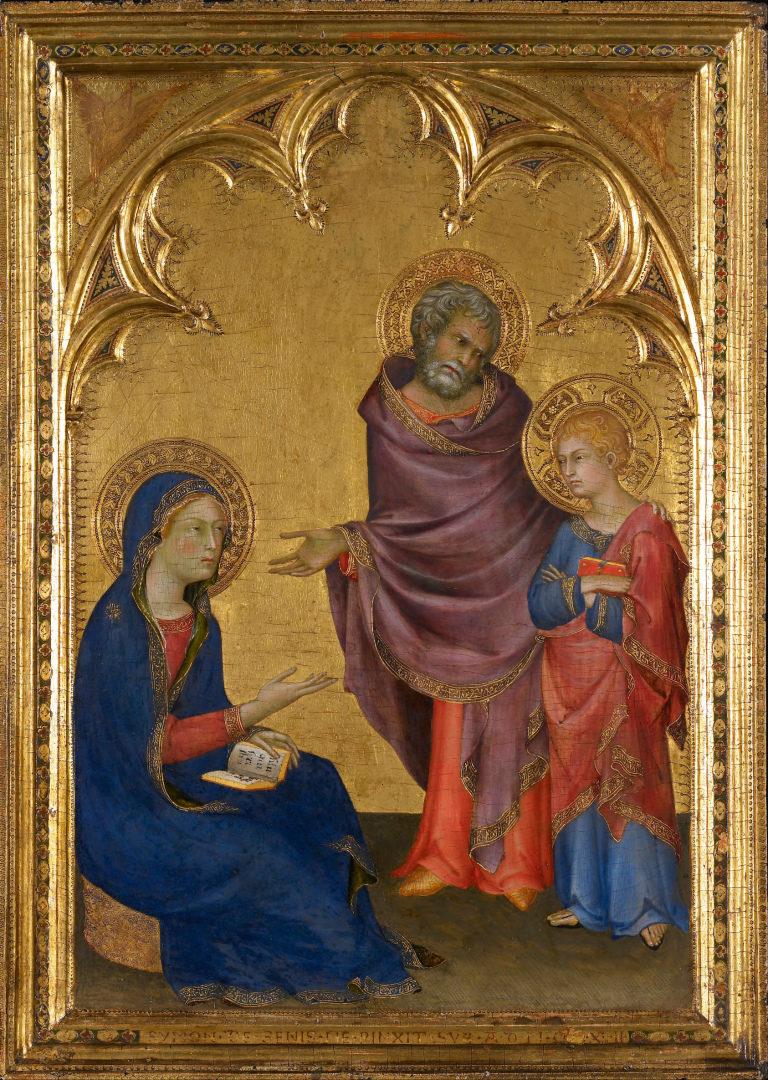 Святое семейство. 1342