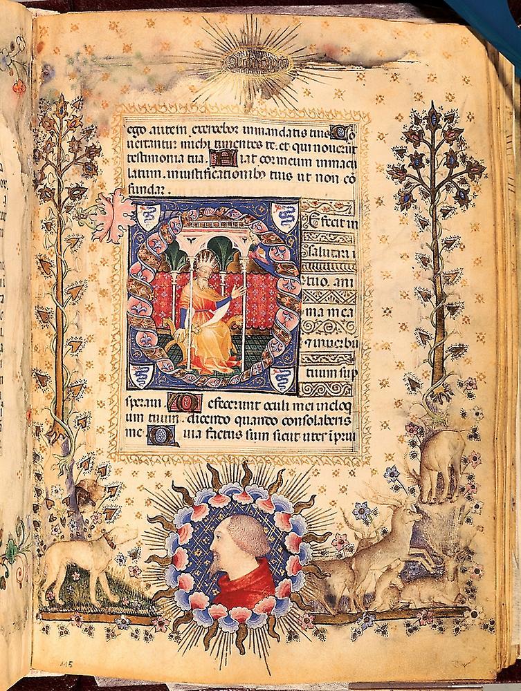 Царь Давид. Ок. 1380–1390