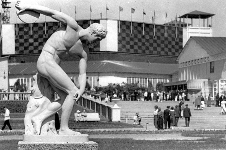 Центральный парк культуры и отдыха им. Максима Горького в Москве. Москва, 1930-е