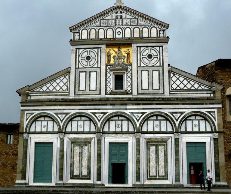Церковь Сан-Миниато-аль-Монте. XI–XIII вв. Флоренция