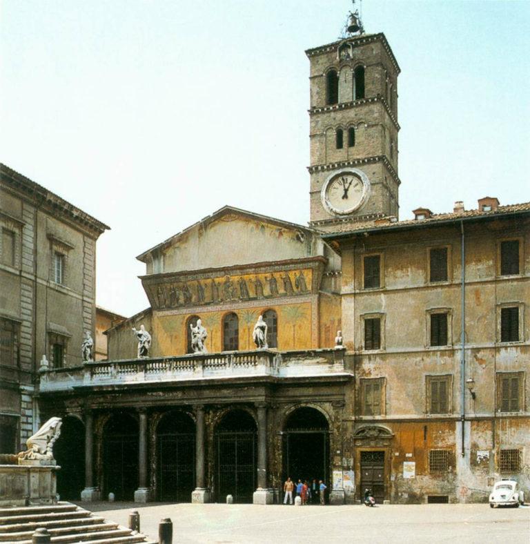 Церковь Санта-Мария-ин-Трастевере. XII в. Рим