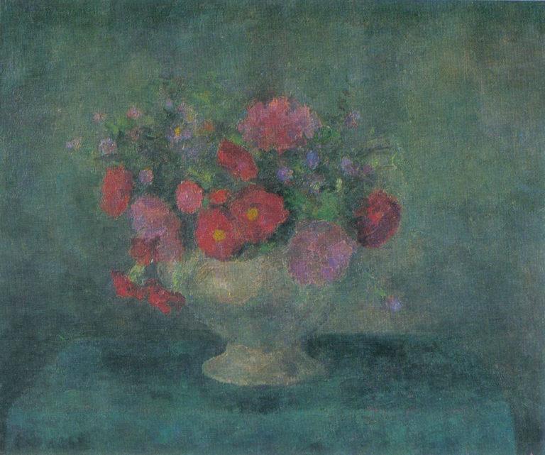Цветы в супнице. 1951