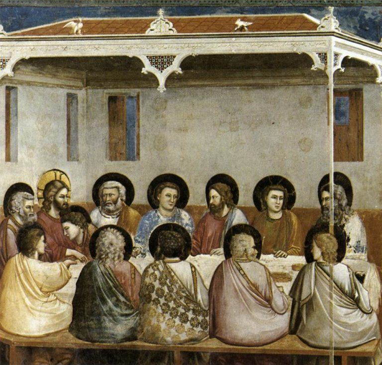 Тайная Вечеря. 1303–1305