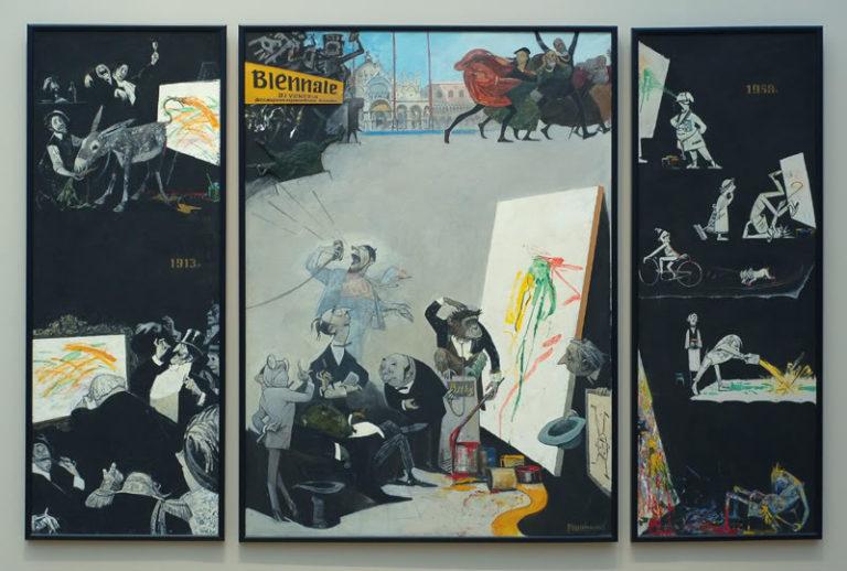 Тайны абстракционизма. Триптих. 1958